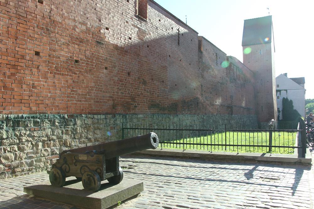 里加舊城牆大砲遺跡