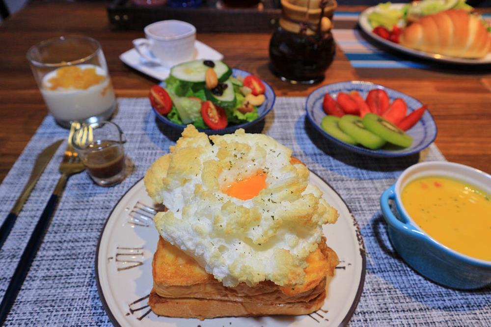 雲山水88號民宿早餐