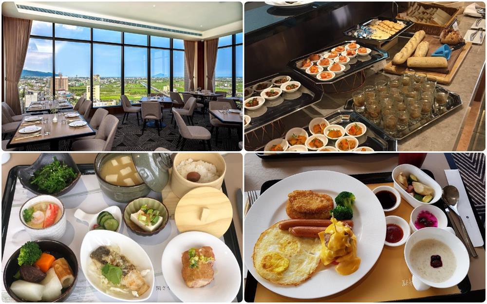 礁溪山形閣溫泉飯店早餐