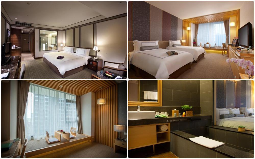 礁溪長榮鳳凰酒店雙人及雙床房型