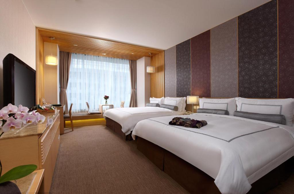 礁溪溫泉飯店長榮鳳凰酒店4人家庭房型