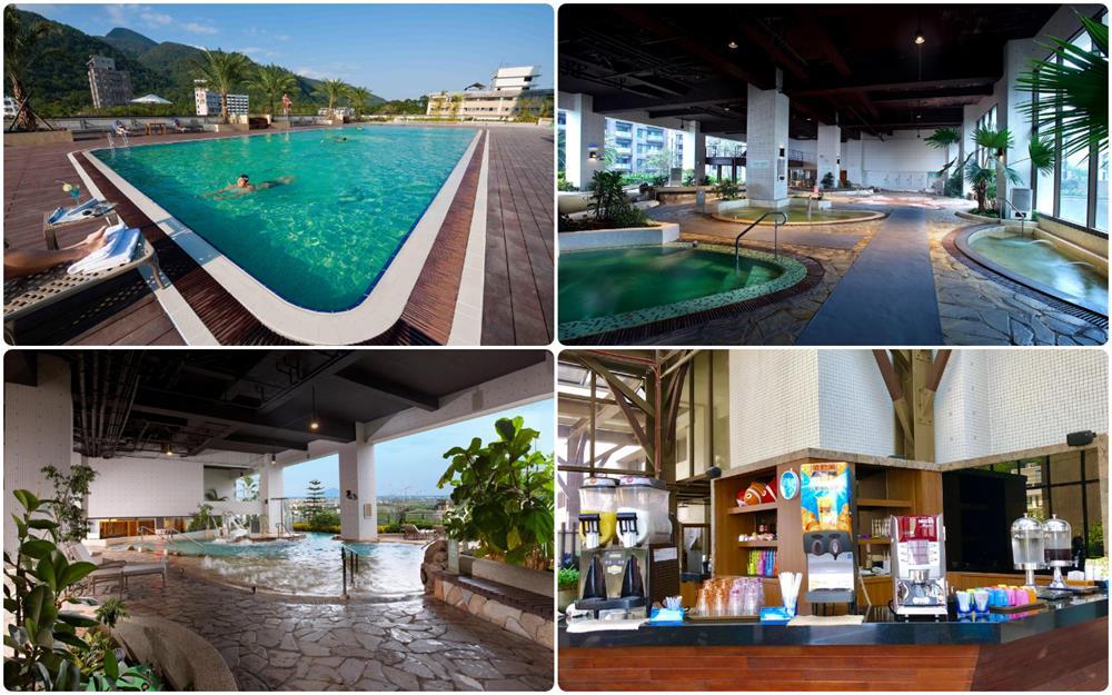 礁溪長榮鳳凰酒店溫泉設施