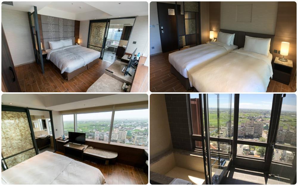 麒麟大飯店高樓層雙人、雙床房