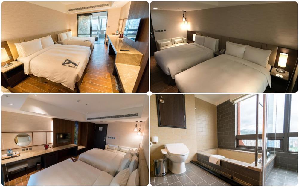 礁溪溫泉飯店麒麟大飯店4人家庭房