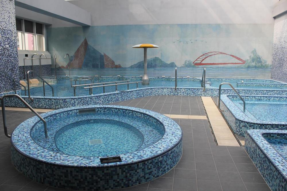礁溪麒麟大飯店Spa水療區