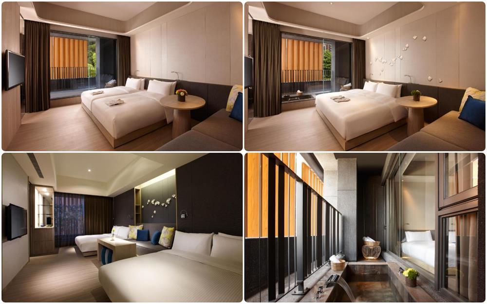 礁溪溫泉飯店晶泉丰旅雙人及4人家庭房型