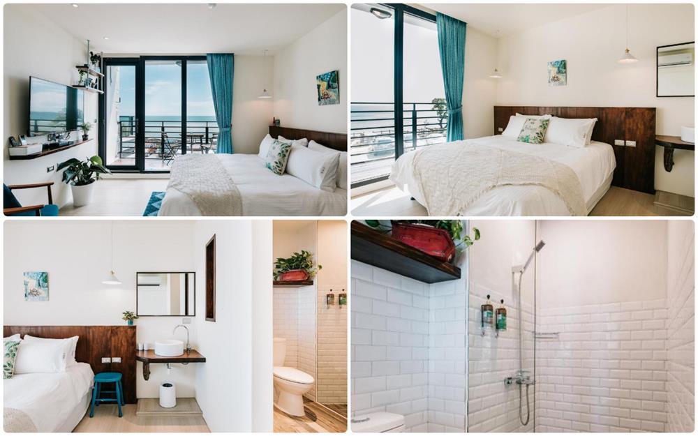 船帆石白旅居2樓標準海景雙人房