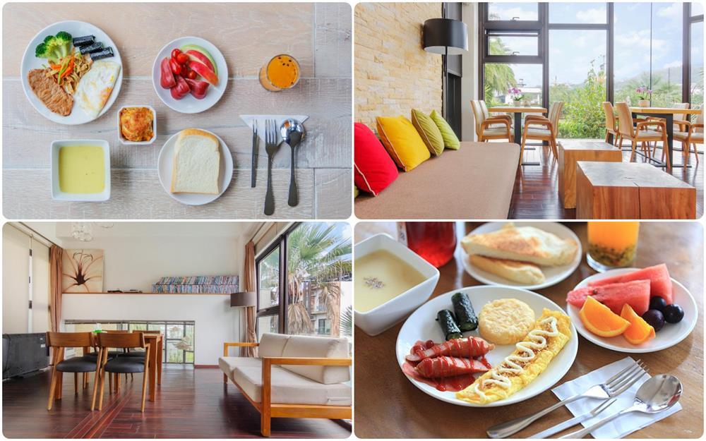 水畔星墅時尚會館早餐及公共空間