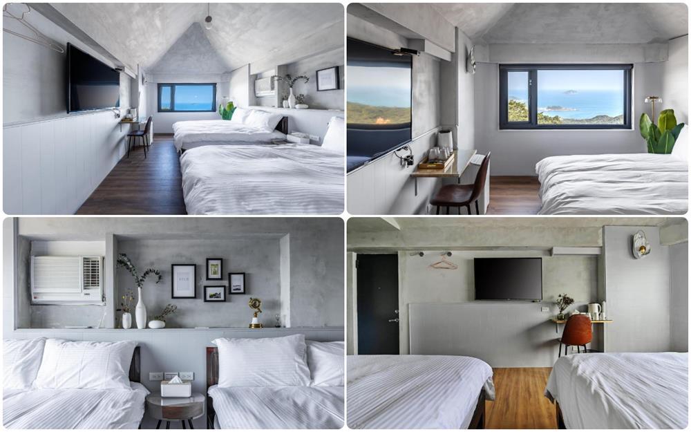 海景高級4人房