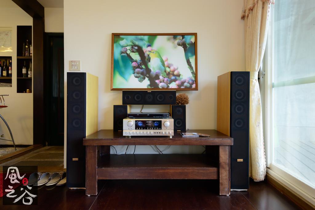 九份風之谷民宿房間音響設備