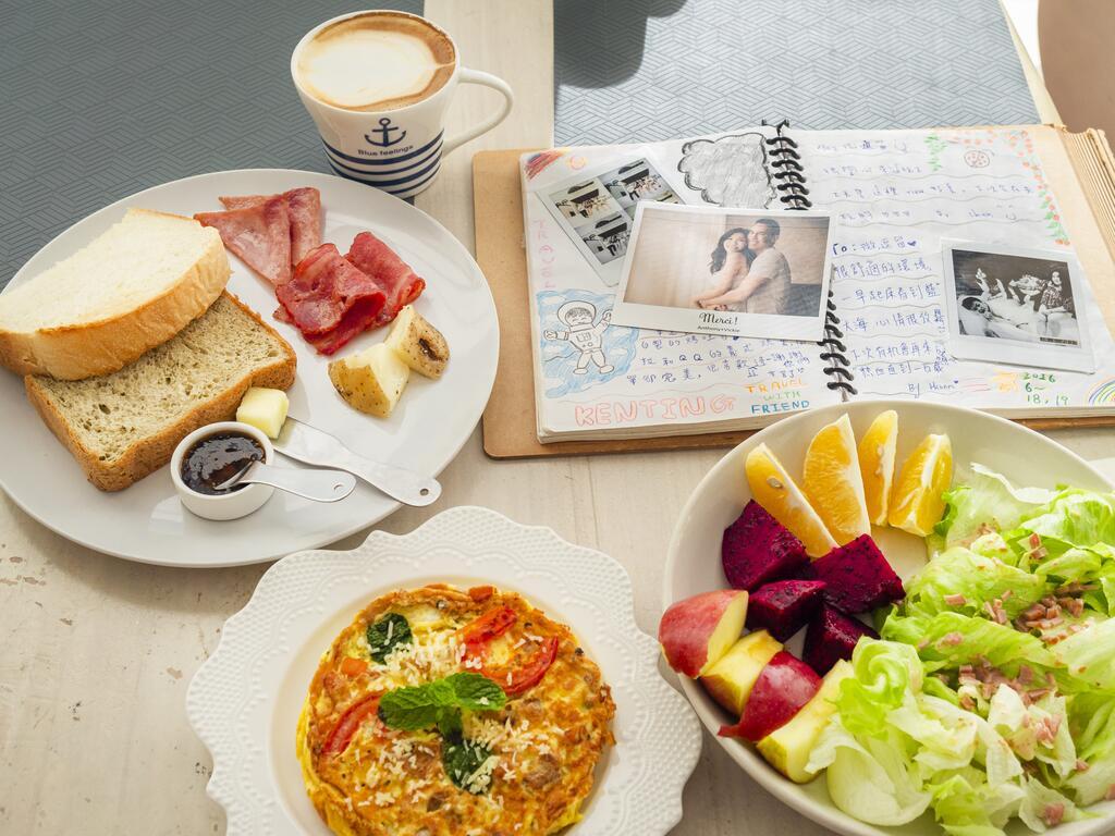 微逗留民宿早餐