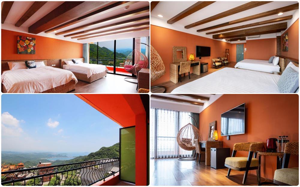 峇里渡假風四人房