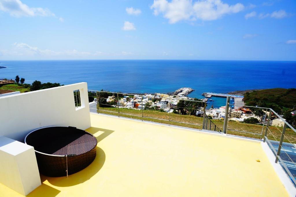 海境渡假民宿VIP雙人房頂樓景觀