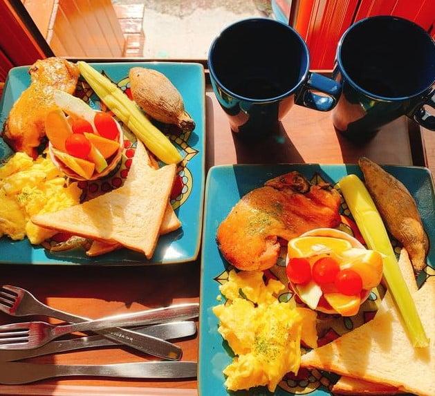 歐若拉海景民宿早餐