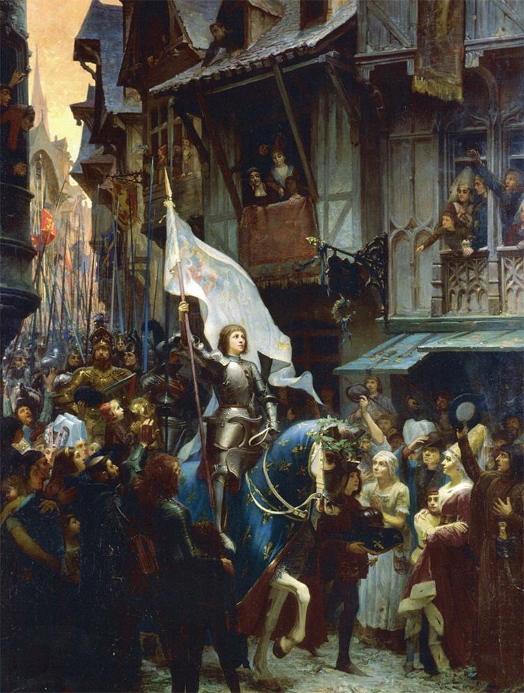 聖女貞德進入奧爾良