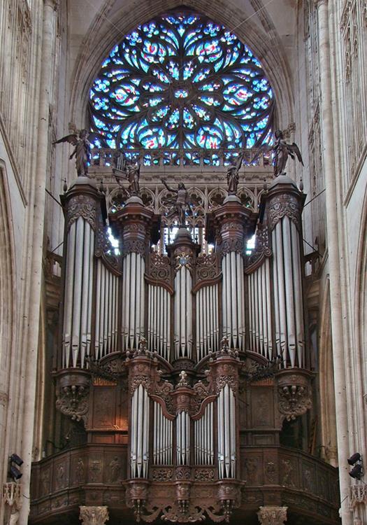 聖旺教堂管風琴