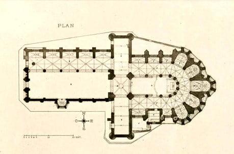 聖救世主教堂平面圖