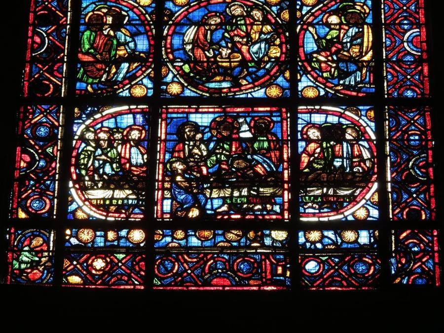 13世紀玻璃花窗