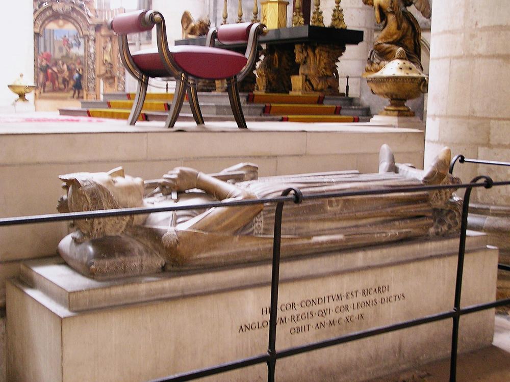 獅心王理查一世之墓