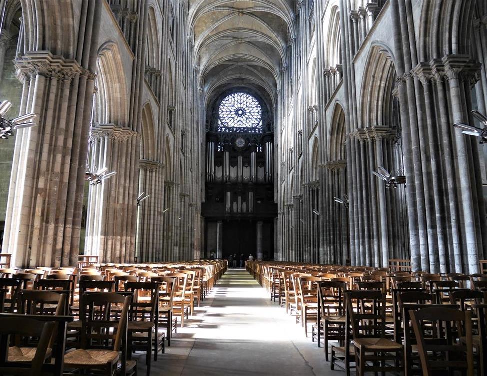 盧昂主教座堂中殿