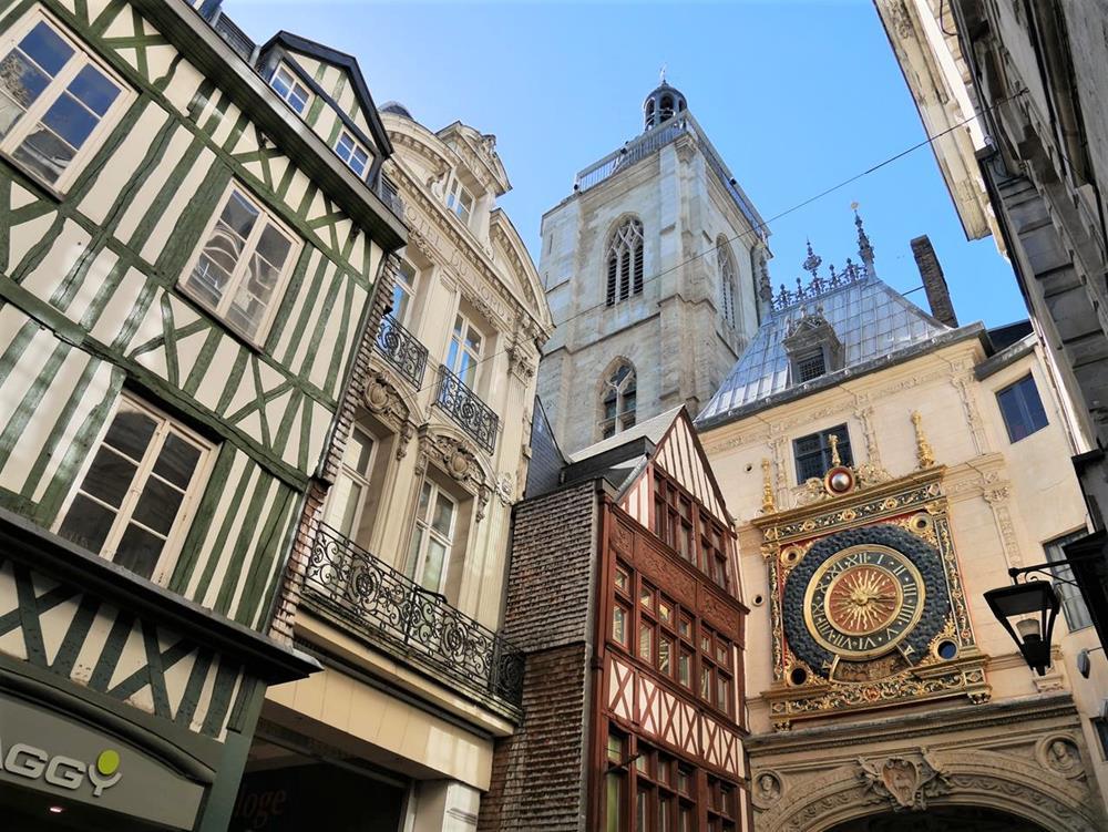 盧昂大時鐘與鐘塔