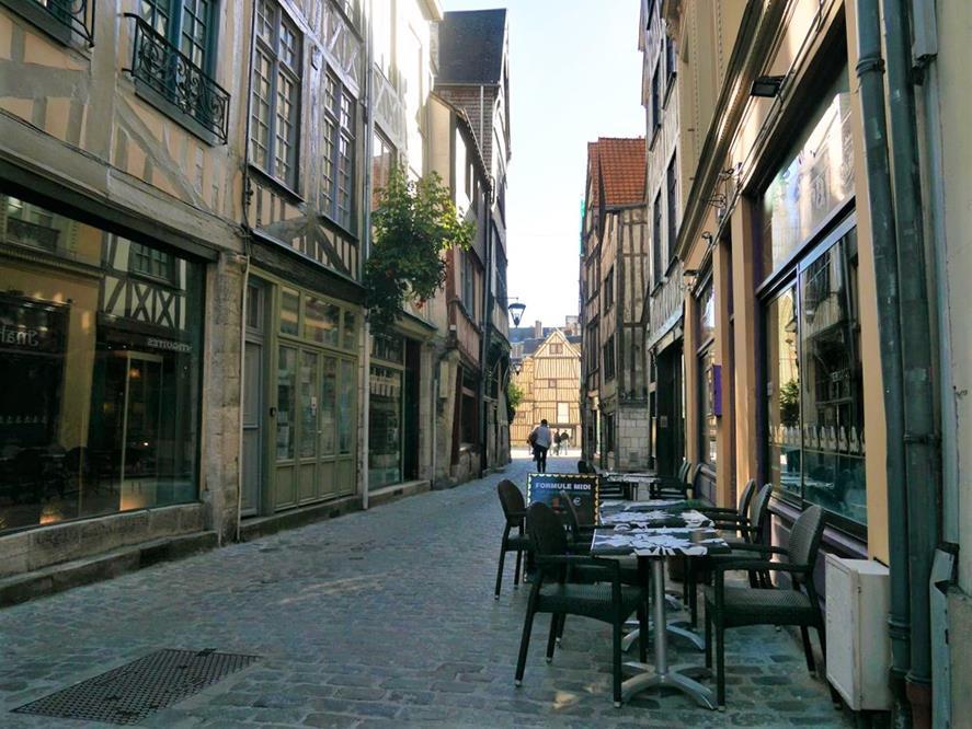 盧昂城市街道