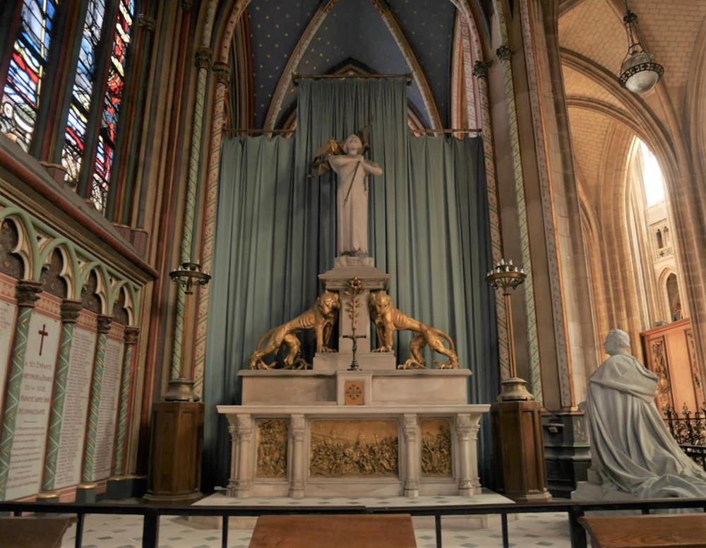 敬獻給聖女貞德的小教堂