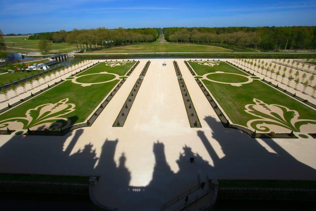 香波爾城堡法式庭園