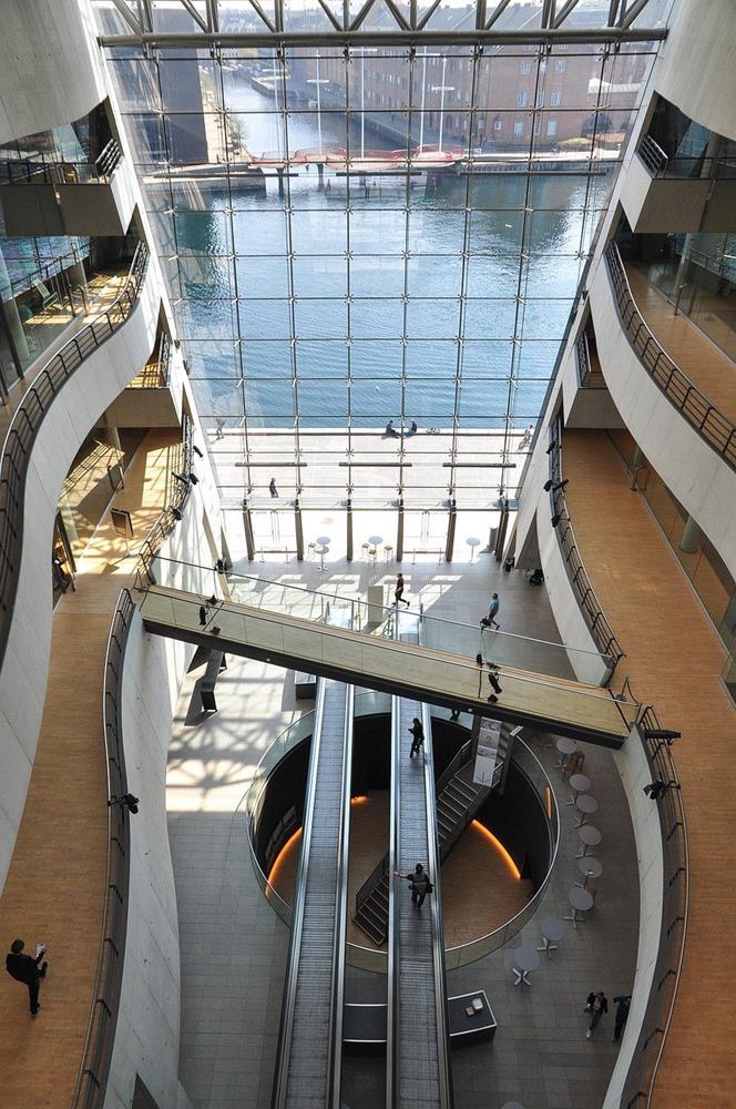 丹麥皇家圖書館大廳