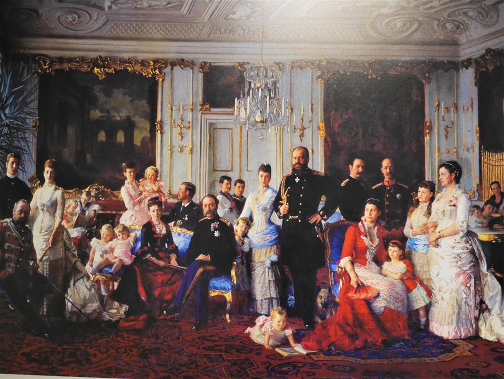 克里斯蒂安九世與丹麥皇室