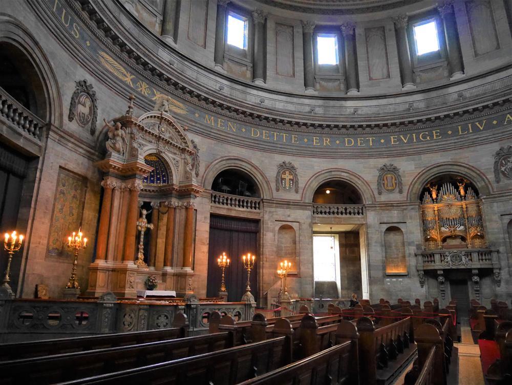 腓特列教堂內部