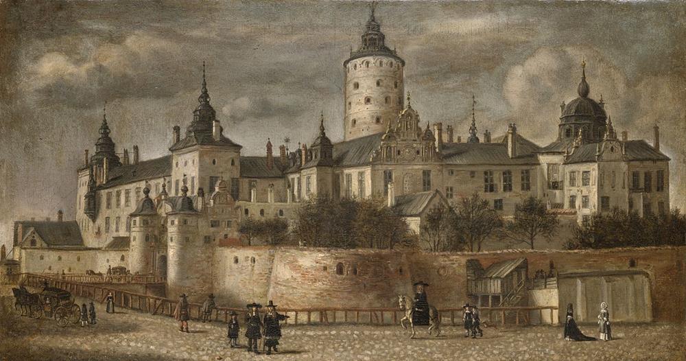 1661年所繪製的三王冠宮