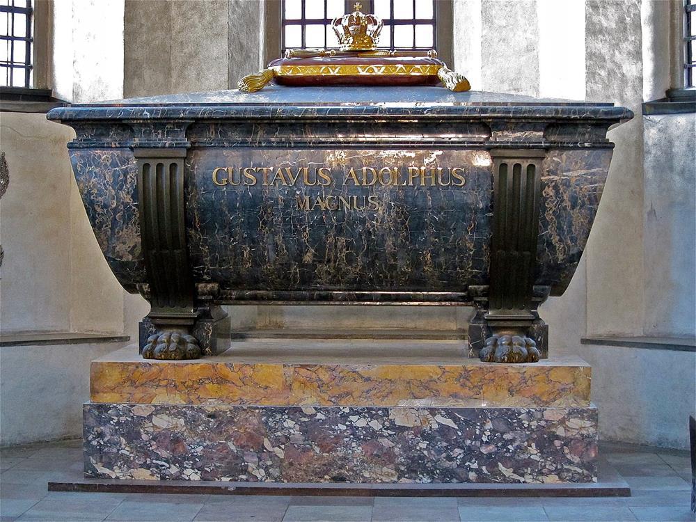 古斯塔夫二世·阿道夫棺木