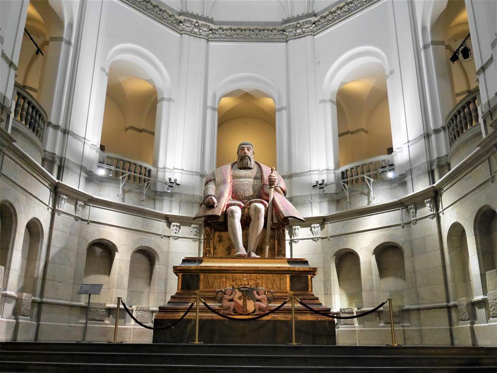 瑞典國王古斯塔夫·瓦薩雕像