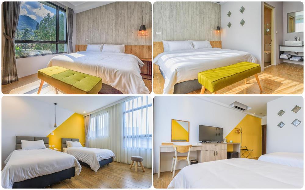 雙人床及雙床房型