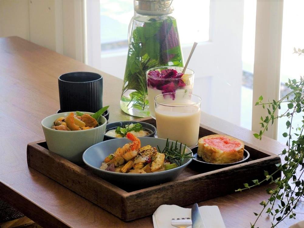 慎重開華莊園民宿早餐