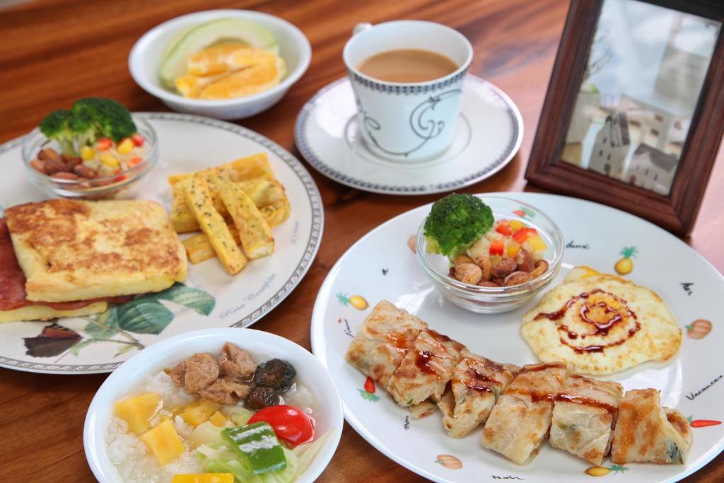 山水清暉民宿早餐